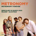 I Metronomy a marzo in Italia