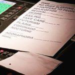 @deerhuntermusic #setlist yesterday in bologna