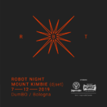 Robot chiude il 2019 con Mount Kimbie