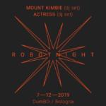 Actress torna a Bologna per la RBT Night con Mount Kimbie
