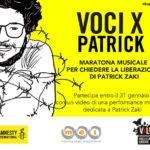 Voci per Patrick Zaki, l'iniziativa di Amnesty