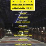 sPAZIALE FESTIVAL 2011 / eMeRsIoNe 2011