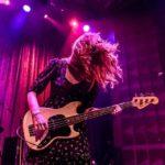 #viviangirls bassist #katygoodman last friday