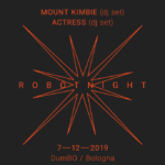 Actress torna a Bologna per la RBT Night con Mount Kimbie